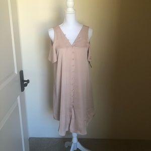 Rachel Roy Cold Shouldered Dress
